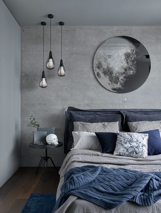 moon mirror on the wall