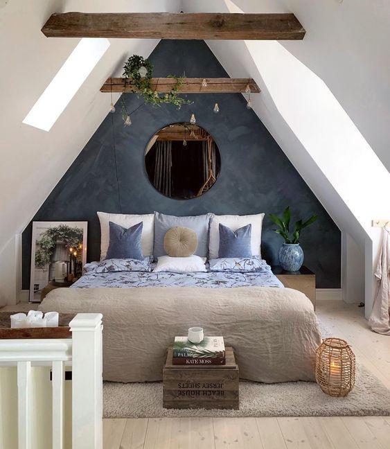 exposed beams in ceiling