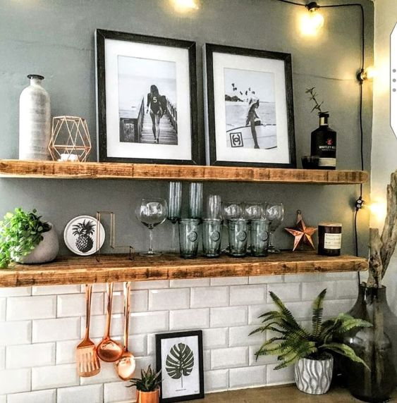 Kitchen Open Shelving Idea 3