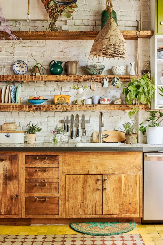 Kitchen Open Shelving Idea 5