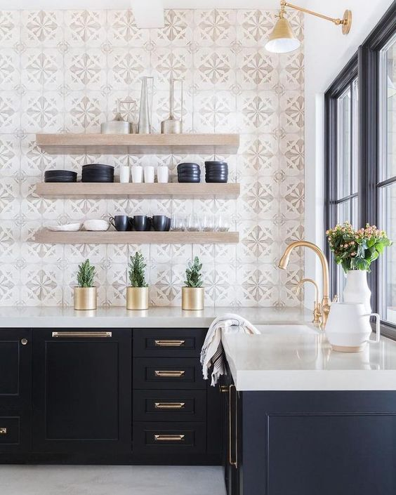 Kitchen Open Shelving Idea 9