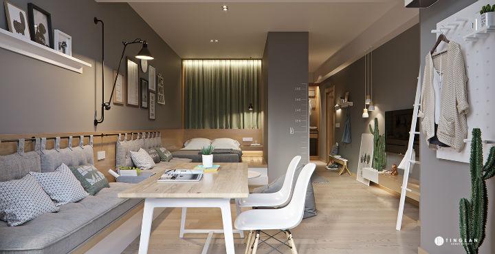 Small Studio Apartment Design Idea 18