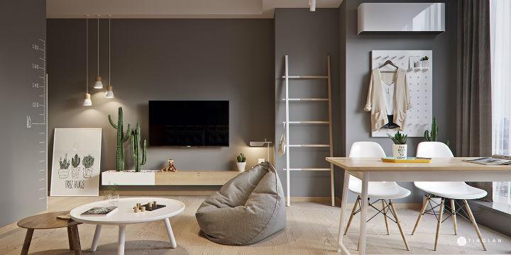 Small Studio Apartment Design Idea 19