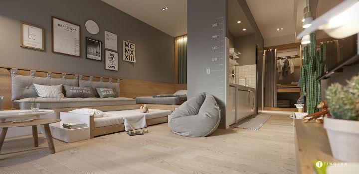 Small Studio Apartment Design Idea 21
