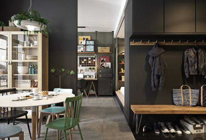 Small Studio Apartment Design Idea 23
