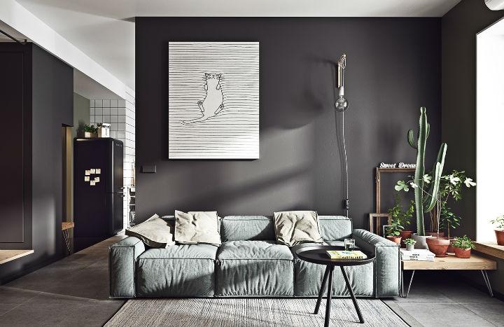 Small Studio Apartment Design Idea 24