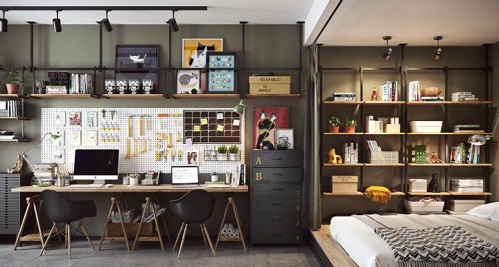 Small Studio Apartment Design Idea 25