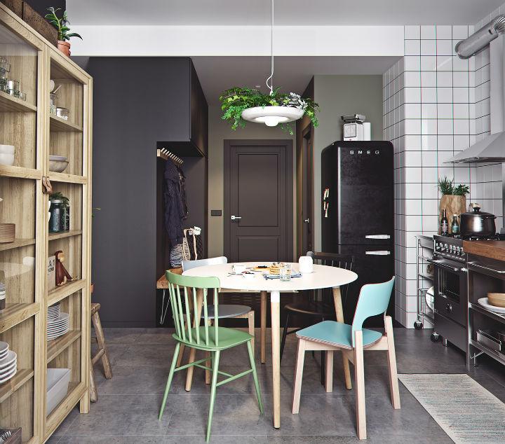Small Studio Apartment Design Idea 26