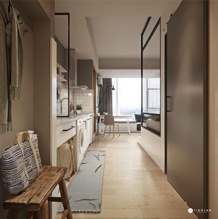 Small Studio Apartment Design Idea 4