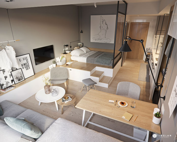 Small Studio Apartment Design Ideas | Decoholic