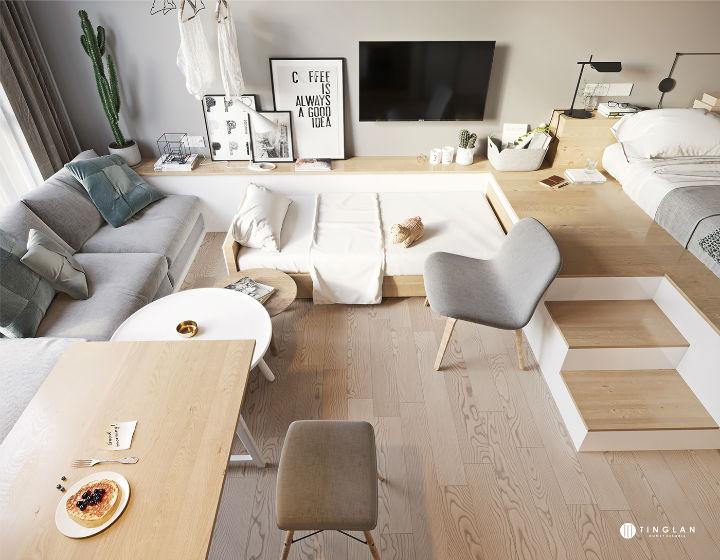 Small Studio Apartment Design Idea 8
