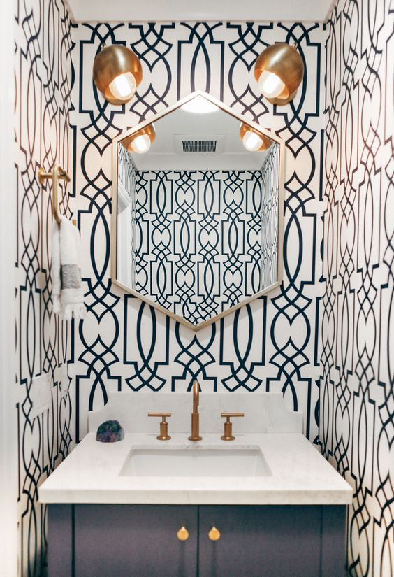 10 Reasons To Wallpaper Your Bathroom Decoholic