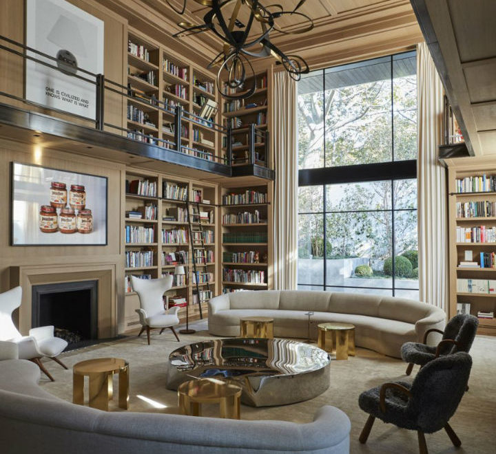 Between Contemporary and Classical Interior 18