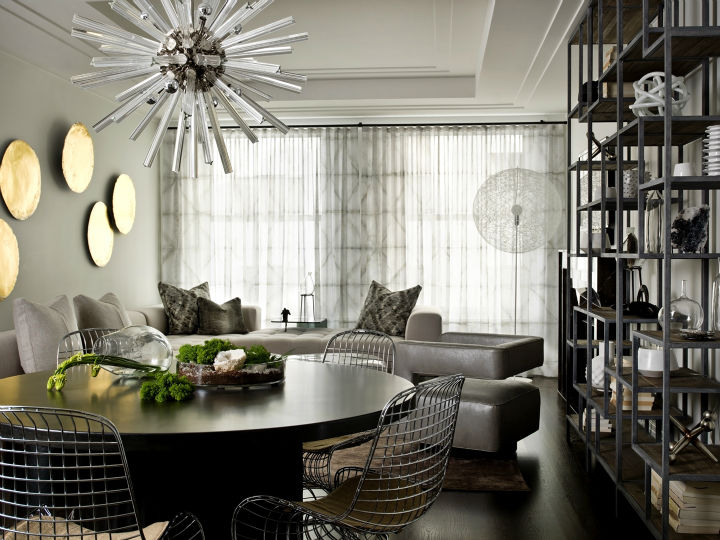 Dramatic Contemporary Interior 36