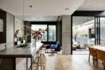 highly detailed contemporary interior design