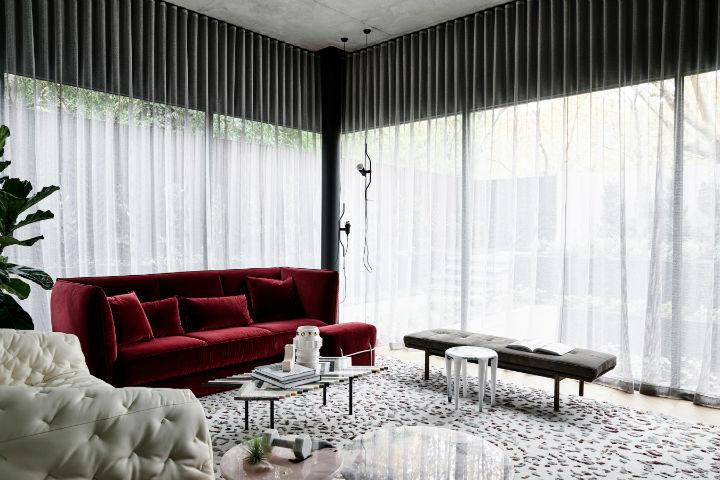 highly detailed contemporary interior design 2
