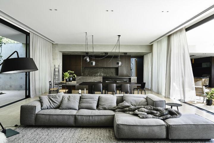 highly detailed contemporary interior design 28