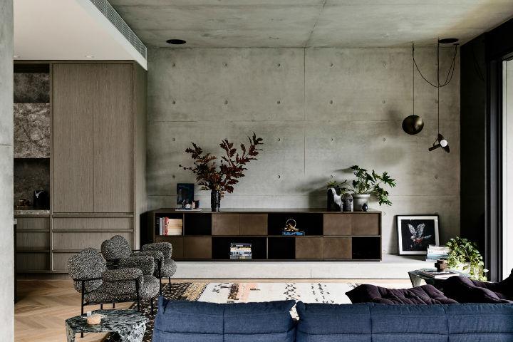 highly detailed contemporary interior design 8