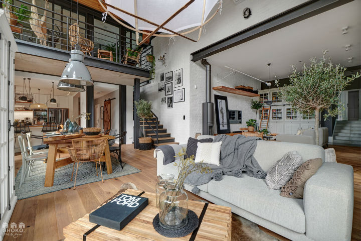 Industrial Brooklyn Loft interior design