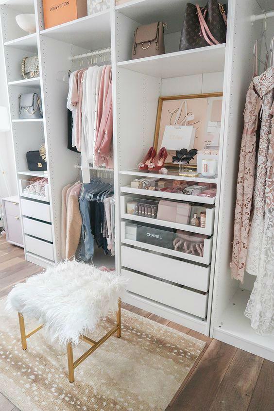 organising closet design idea