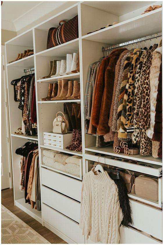 organising closet design idea 5