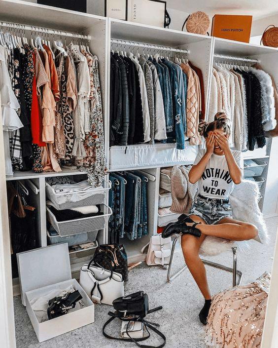 organising closet design idea 7