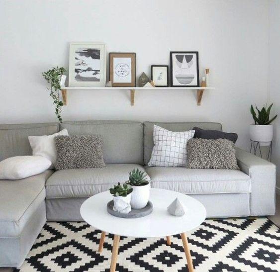 summer hygge home decor idea