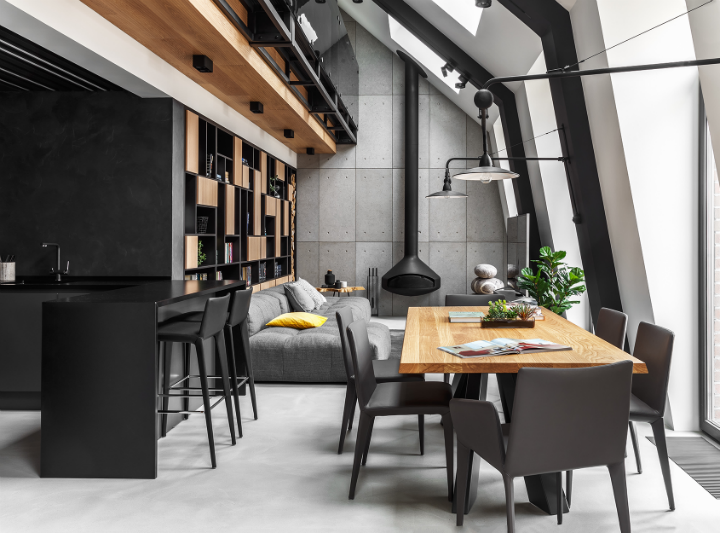 ultra contemporary interior design idea
