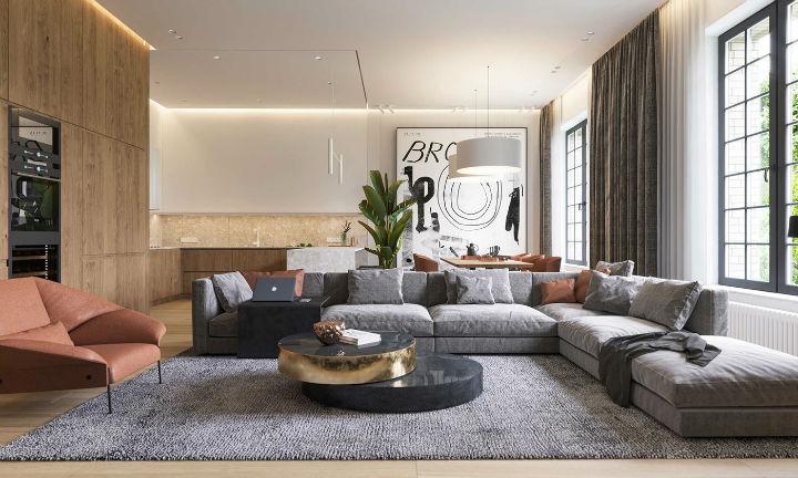 ultra contemporary interior design idea 18