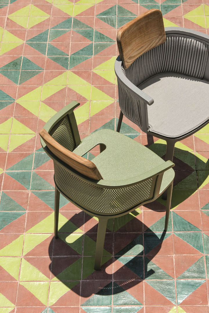 Italian design  Haute Couture Outdoor Chair 4