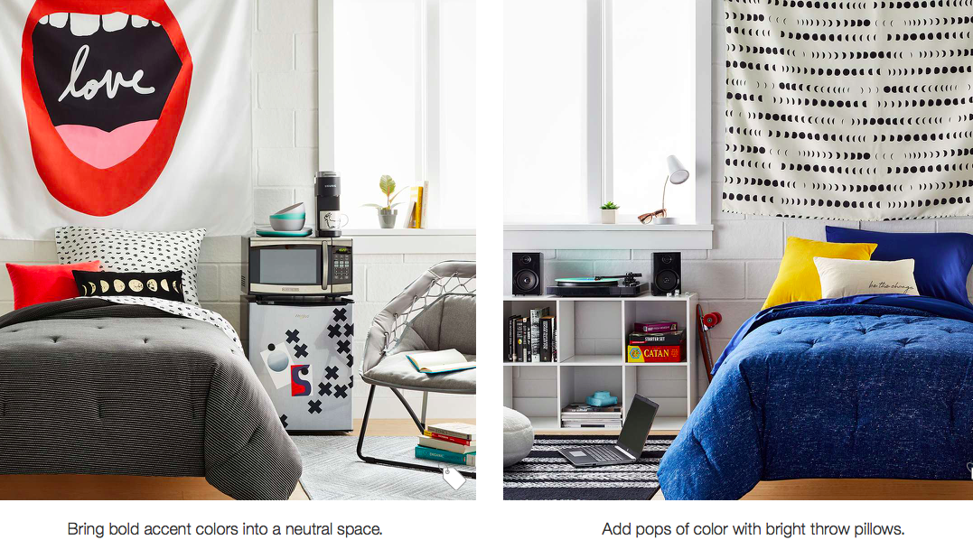college dorm room ideas by target 3