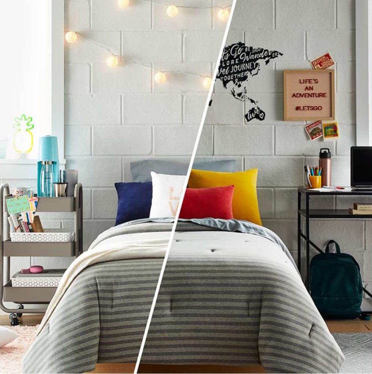 college dorm room ideas by target
