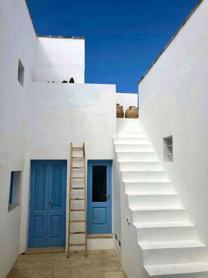 island mediterranean house
