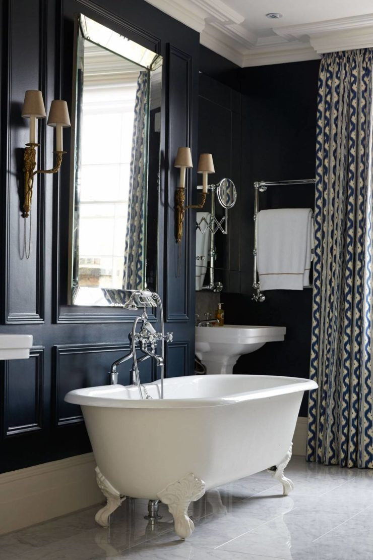 Victorian Style Bathroom With A Modern