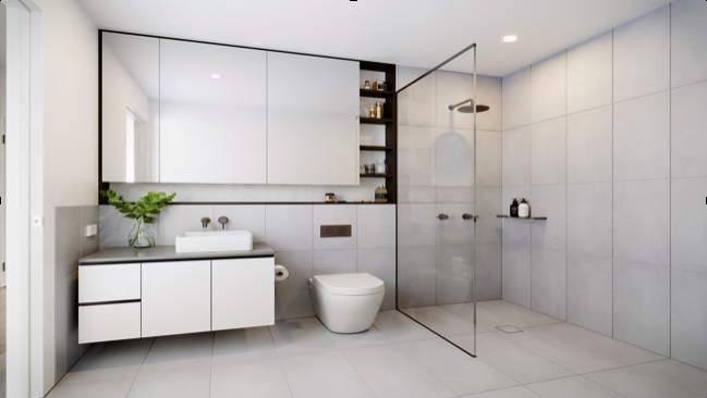 modern bathroom design idea 2