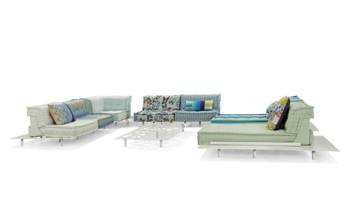 MAH JONG OUTDOOR MODULAR SOFA 3
