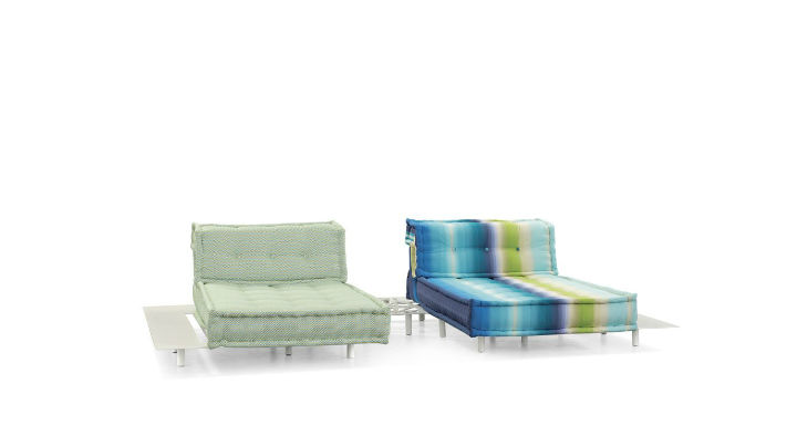 MAH JONG OUTDOOR MODULAR SOFA 4