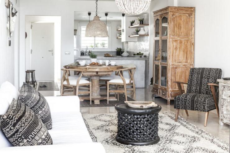 Summer Bohemian Interiors With a Scandinavian Twist 12