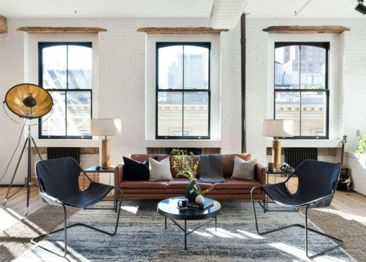 Industrial Cast Iron Soho Loft 11