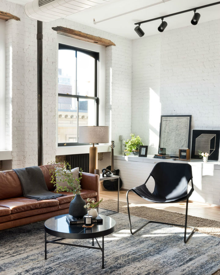 Industrial Cast Iron Soho Loft 12