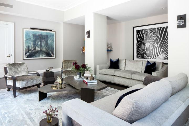 Warm Urban Family home interior 10