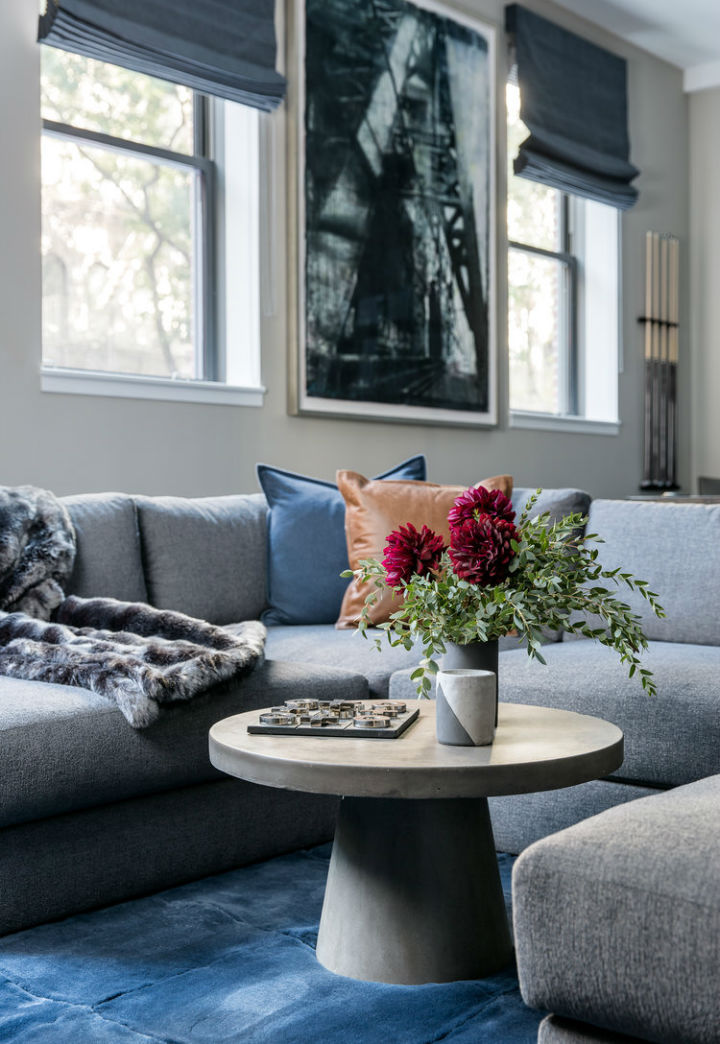 Warm Urban Family home interior 15