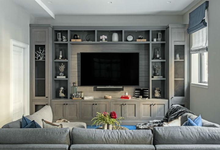 Warm Urban Family home interior 16