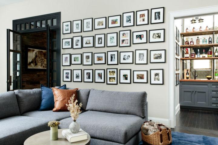 Warm Urban Family home interior 17