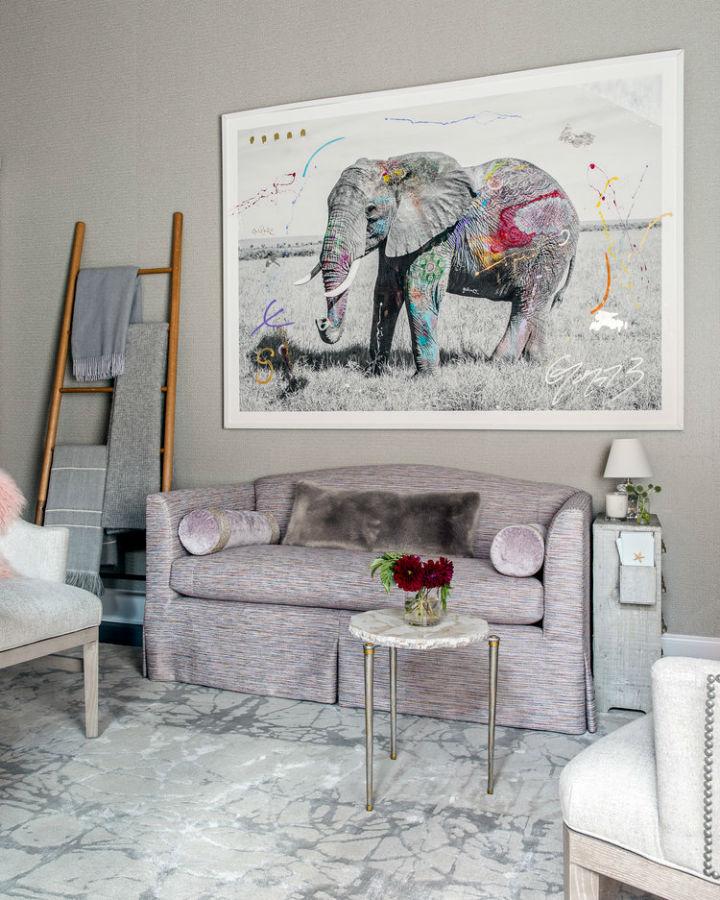 Warm Urban Family home interior 23