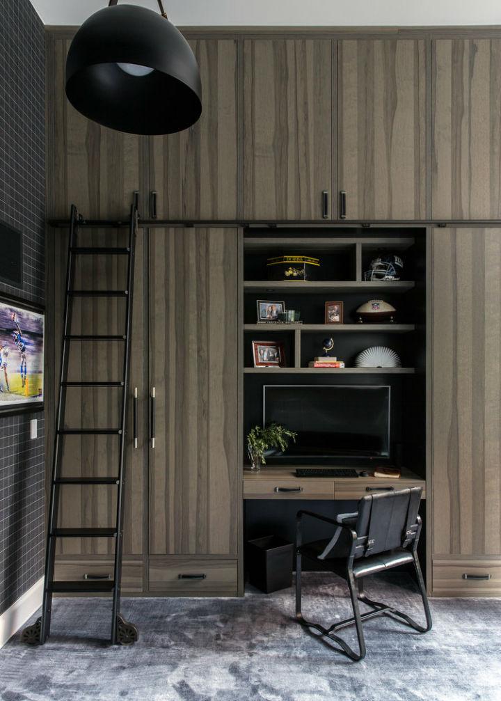 Warm Urban Family home interior 30