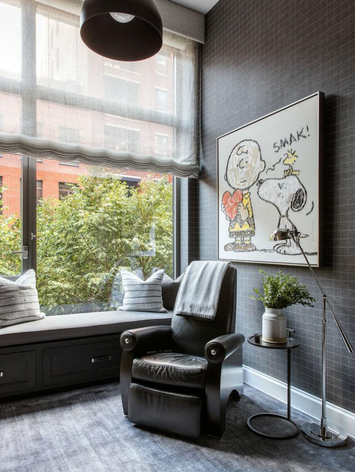 Warm Urban Family home interior 31