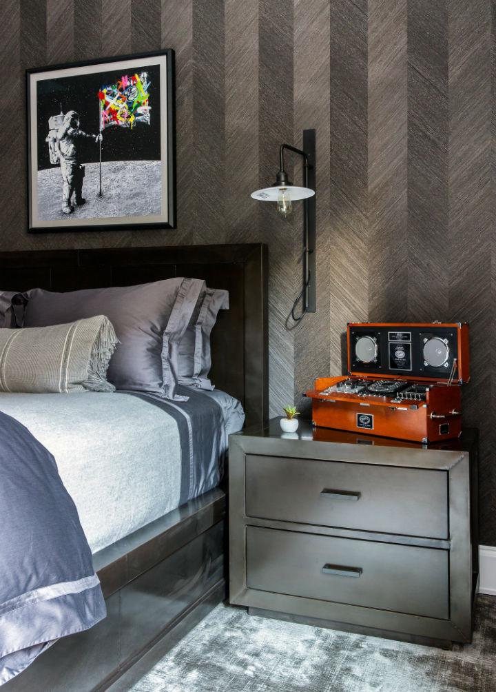 Warm Urban Family home interior 38