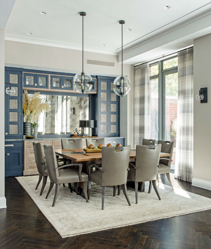 Warm Urban Family home interior 6