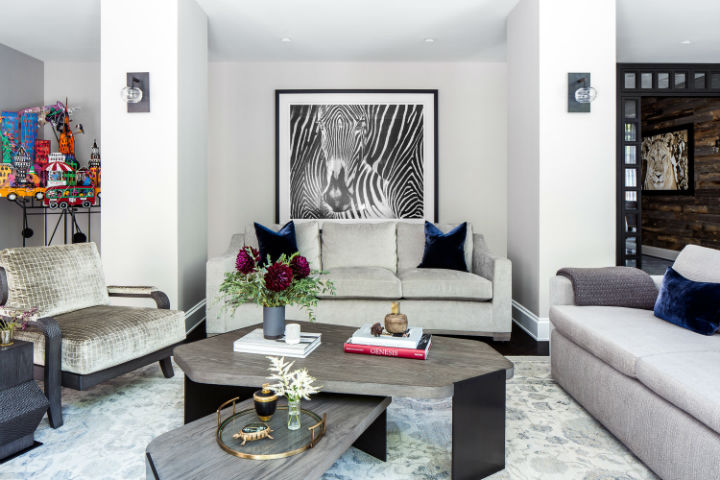 Warm Urban Family home interior 8